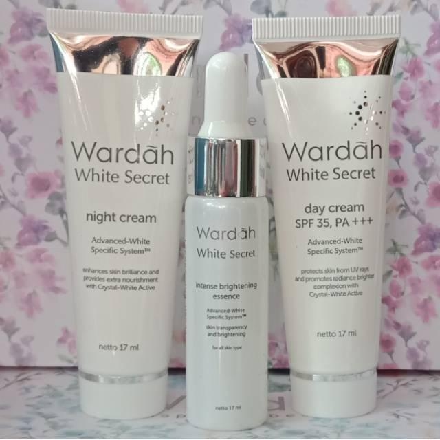 Wardah White Secret Day Cream dan Night Cream Lazada