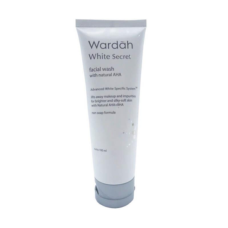 Wardah White Secret Facial Wash with AHA Lazada