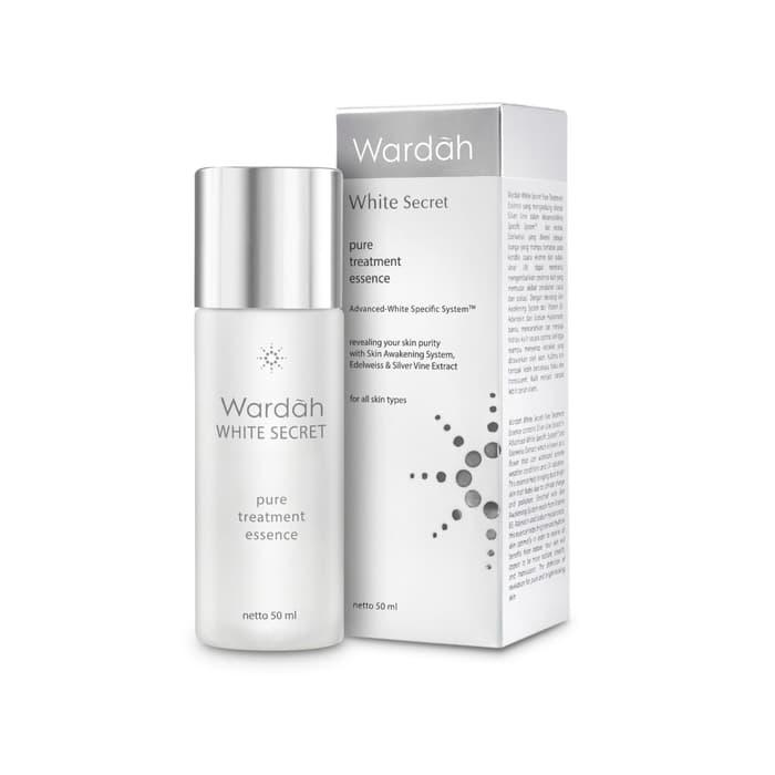 Wardah White Secret Pure Treatment Essence Tokopedia