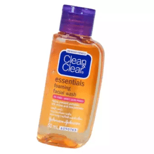 Clean Clear Essential Foam Facial Wash min