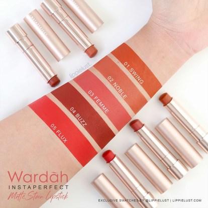 Wardah Instaperfect Mattetitude Matte Stain Lipstick 1