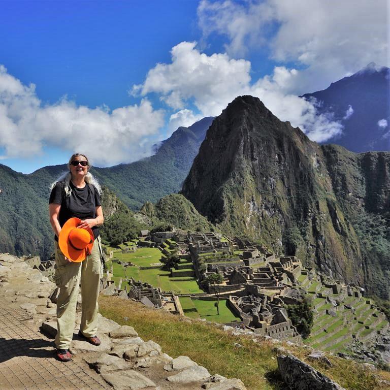 Machu Picchu Mama, I Did it!
