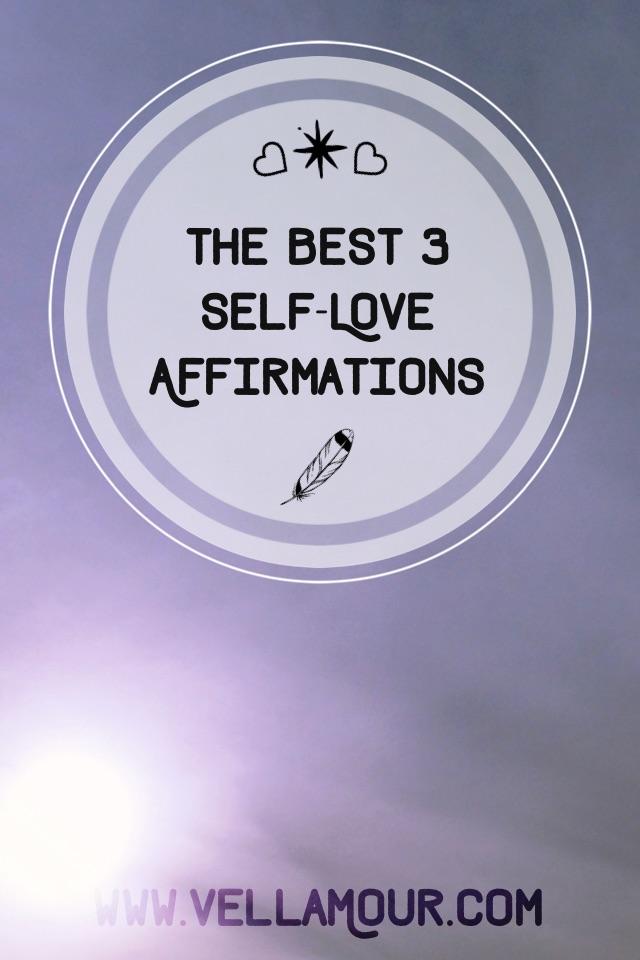 Choose your self-love affirmation