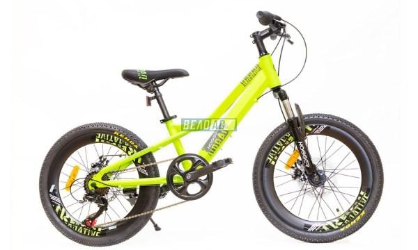 Купить Велосипед HOGGER 7-ск. зеленый от магазина ВелоАС