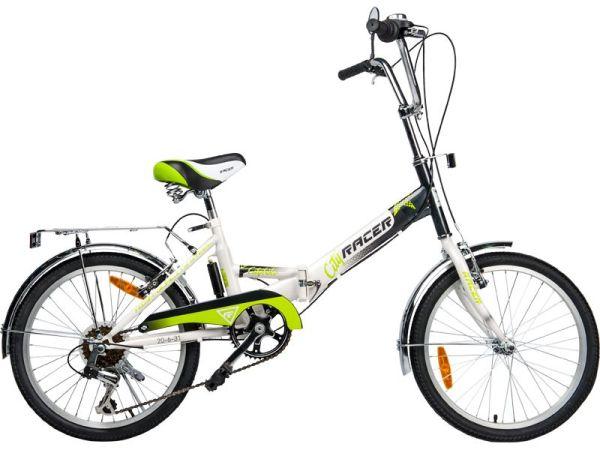 """Купить 20""""Велосипед RACER 20-6-31 складной, рама сталь ..."""