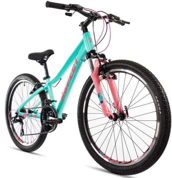 """Купить Велосипед 24"""" Aspect """"ANGEL"""" 2020 Зеленый от ..."""