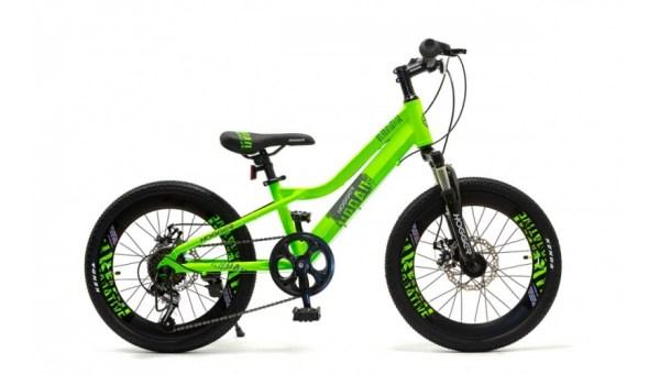 """Купить Велосипед 20"""" HOGGER """"URBAN"""" зеленый от магазина ВелоАС"""