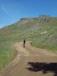 descending to Santa Rosa Creek Road