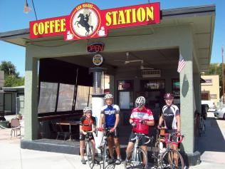 at the Coffee Station in San Miguel