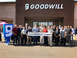 Velocity Leases Another Big Box and Attends Grand Opening for Goodwill in Chandler 1