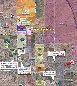 Ocotillo Road & Schnepf Road - SWC 2
