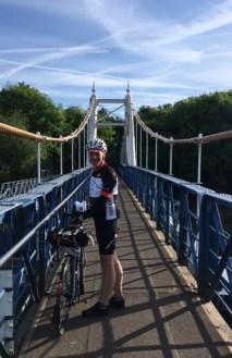 Crossing the Thames at Teddington