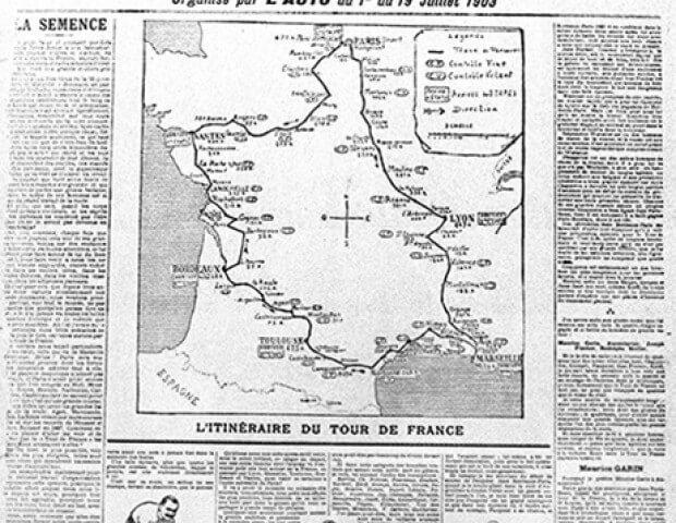 1903 Tour de France l'Auto