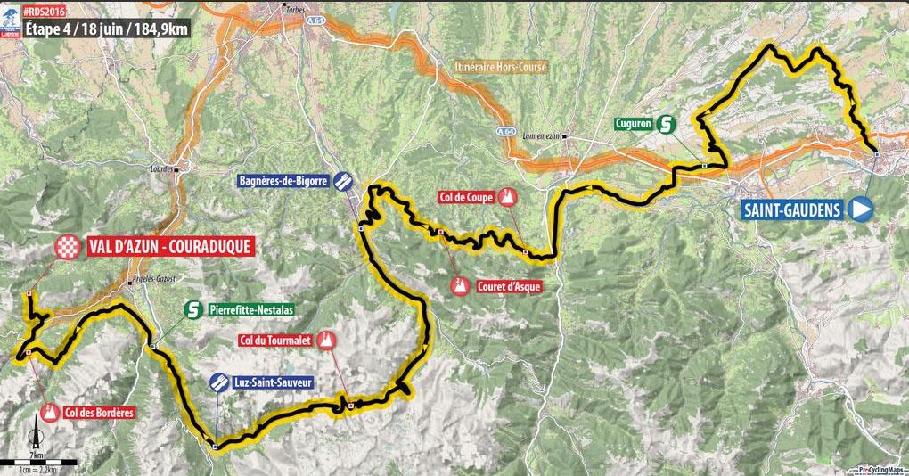 Stage 4 Route du Sud 2016