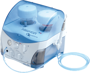Aquacut Quattro Dental Air Abrasion and Air Polishing Unit - Open