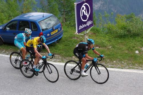 Critérium du Dauphiné 2014, 7e étape Ville-la-Grand / Finhaut-Emosson.