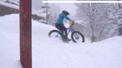 La Suisse en hiver, et en «fat»