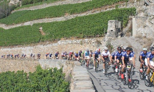 LA CYCLOSPORTIVE DES VINS DU VALAIS ALLIE CYCLISME ET ÉPICURISME
