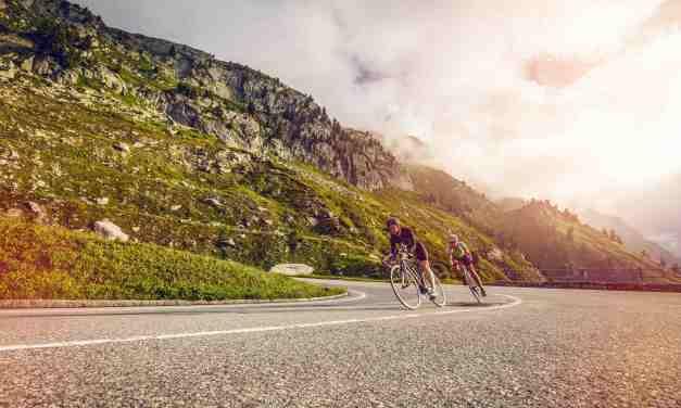 Des cols alpins  réservés aux cyclistes