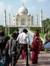 Le fameux Taj Mahal, Agra, Inde