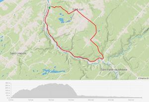 Randonnée gravel bike Matane Boucannerie