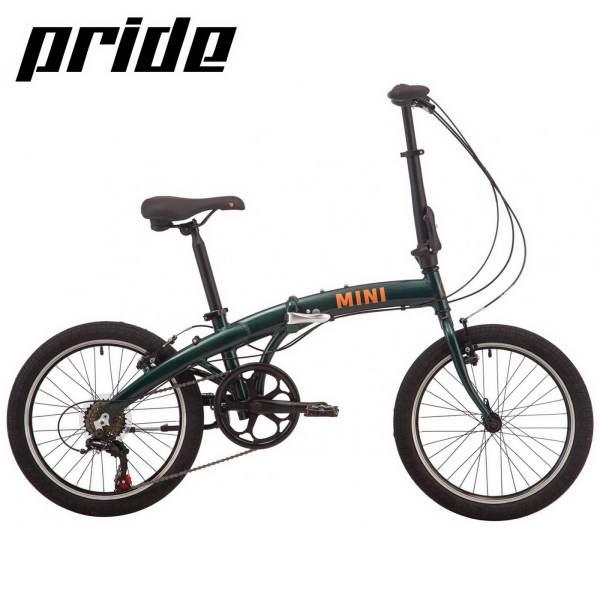 """Велосипед 20"""" Pride MINI 6 темно-зеленый 2019 купить в ..."""