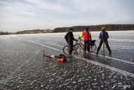 Lediniu ratu klubo zygis / Winter cyclists' club