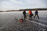 Lediniu ratu klubo zygis / Winter cyclists' club