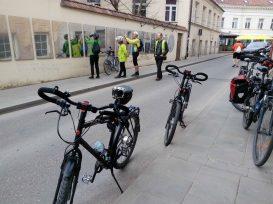 Vilnius Bike tours @ Užupis Constitution