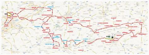Kuurne-Brussels-Kuurne parcours 2012