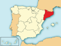 Location of Catalunya