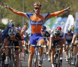 He wins again! Theo Bos (image courtesy of Rabobank)