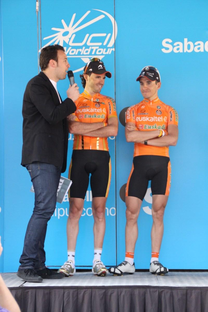 Inigo with Samu Sanchez and Igor Anton (image courtesy of Joserra Alvarez)