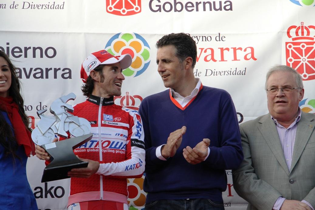 Moreno with Miguel indurain (image courtesy of Susi Goetze CyclingInside)