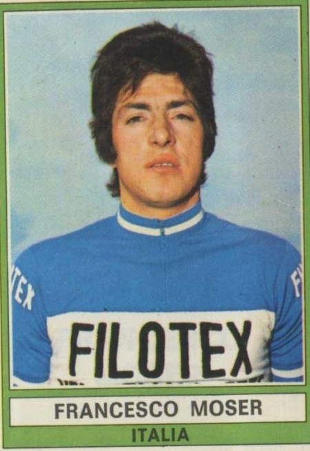 Francesco Moser 1974 (image courtesy of cycling archives)