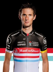 Schleck will need to be aggressive if he wants to target a podium finish (image courtesy of RadioShack-Nissan)