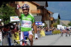 Joaquim Rodriguez: two stages and two jerseys (image courtesy of official race website)