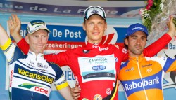 Tour of Begium 2012 podium (image courtesy of official race site)