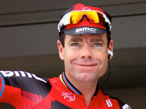 Will we see a smile or a frown from Cadel? (Image; Danielle Haex)