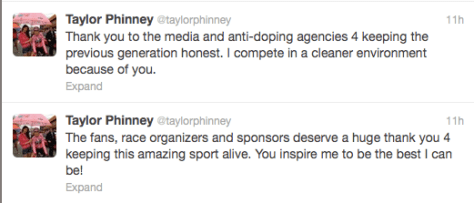 Phinney doping statement