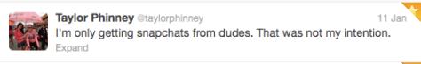 Phinney snapshot username backfire