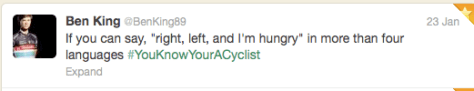 You know you're a cyclist 2
