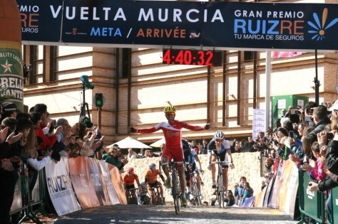 First win for Navarro in Cofidis's colours (image courtesy of official race site)