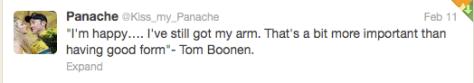 Oman Boonen still have arm