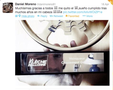 FW Moreno trophy