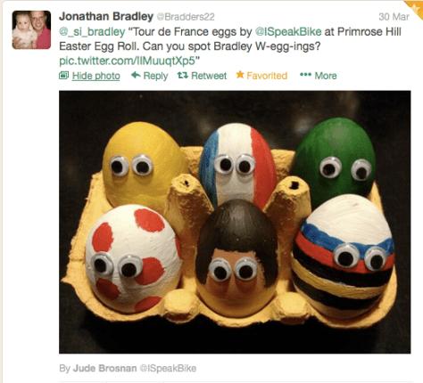 TdF eggs