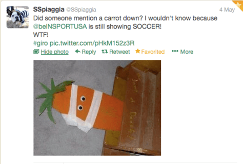 G Carrot down