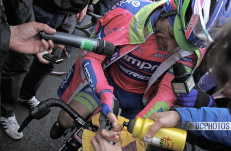 Giro Stage 14 aftermath 5 CREDIT DAVIDE CALABRESI