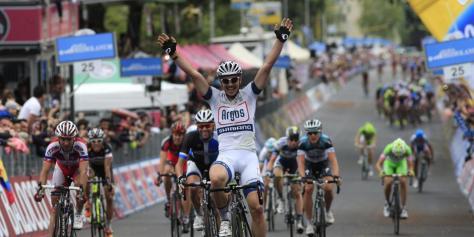 Giro d'Itali 2013 stage 5 winner John  Degenkolb