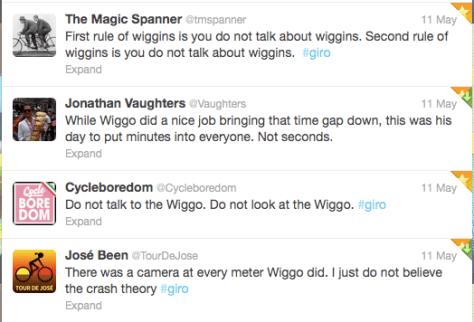 TT First rule of wiggins